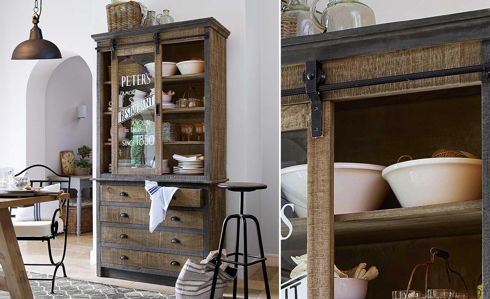 warum ein apothekenschrank in keiner vintage k che fehlen darf. Black Bedroom Furniture Sets. Home Design Ideas