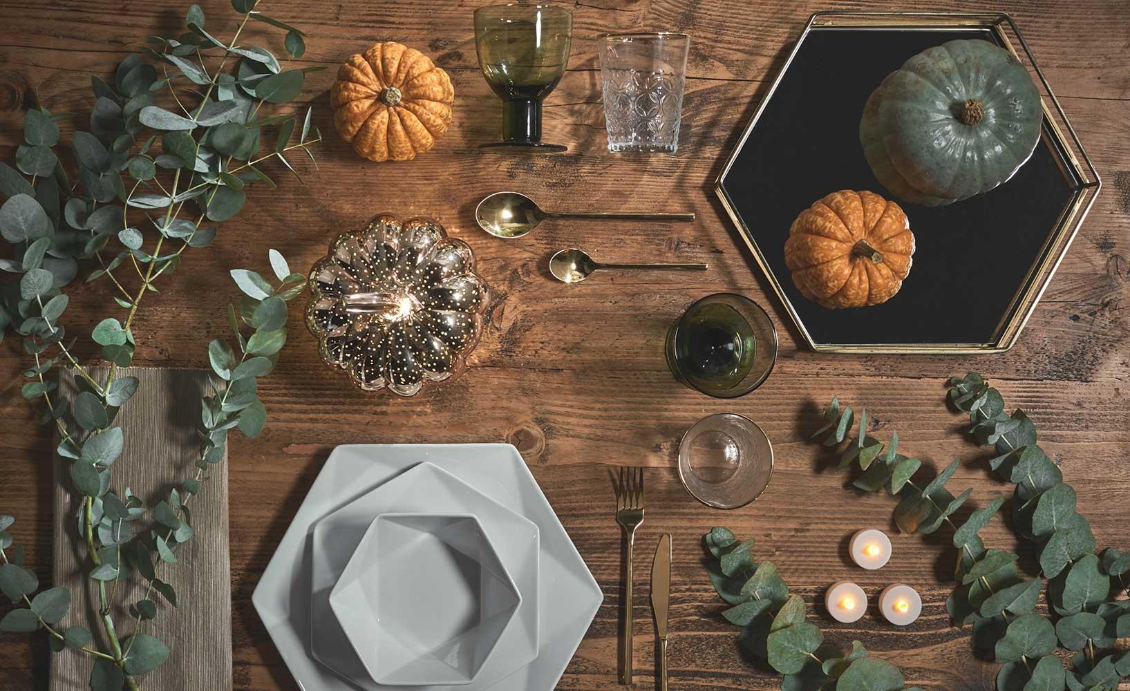 Dekoration für den Herbst