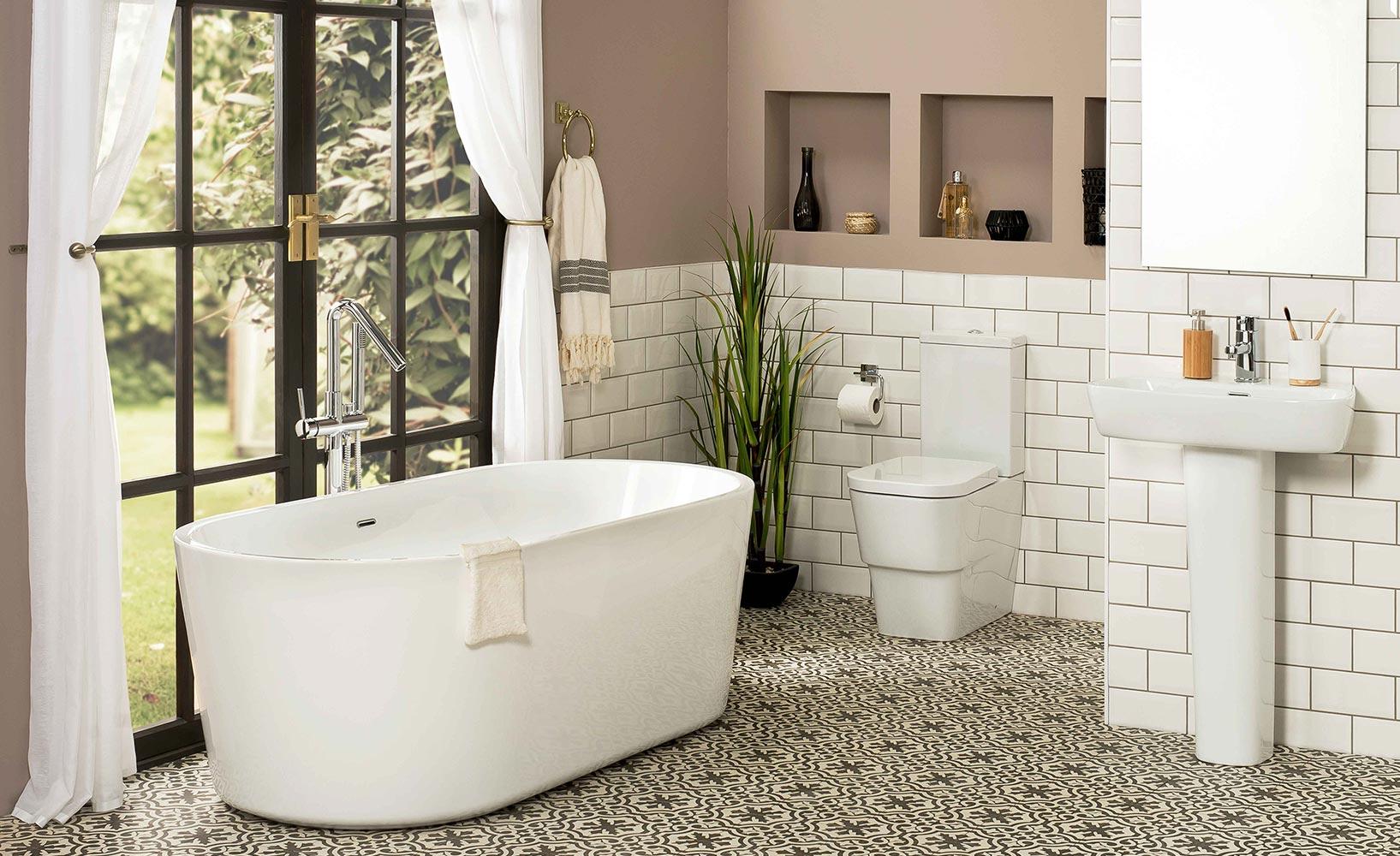 Badewanne freistehend Badezimmer