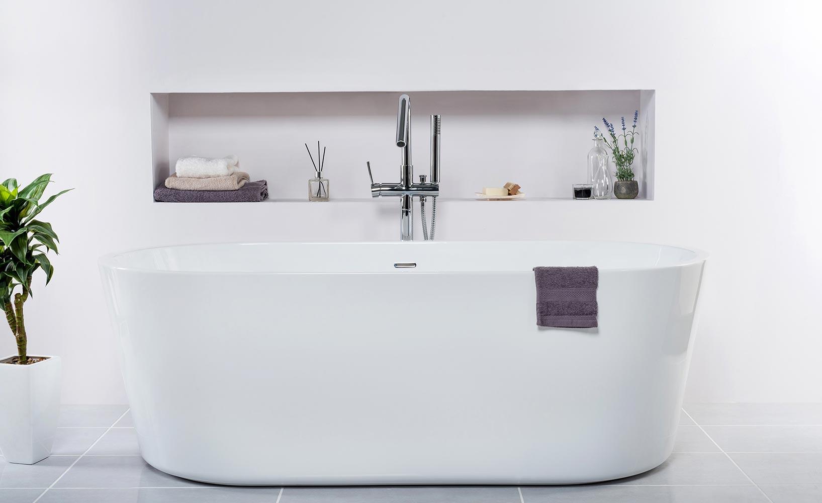 freistehende Badewannen für jedes Bad