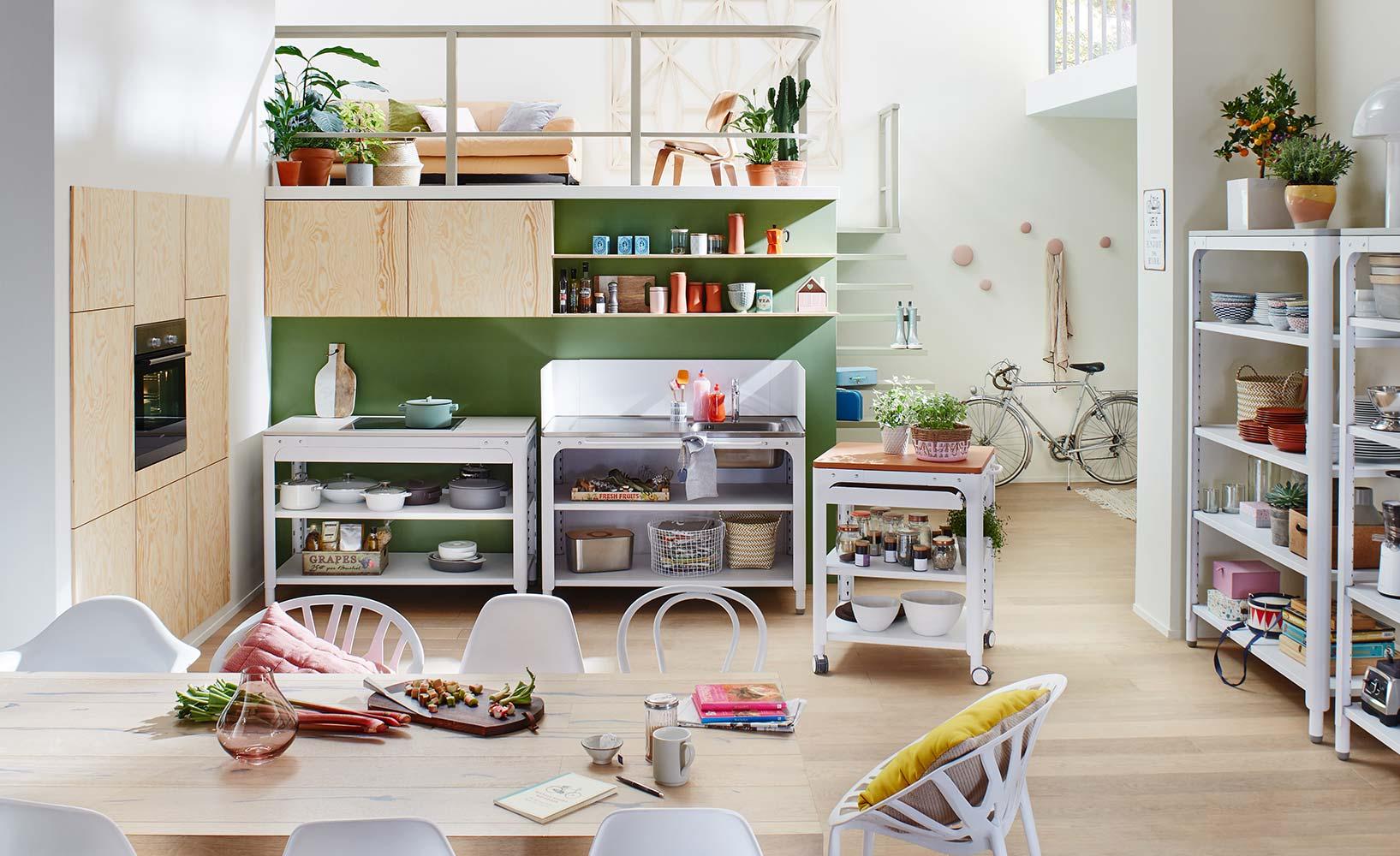 Küchenzeile oder Modulküche ? eine Entscheidungshilfe