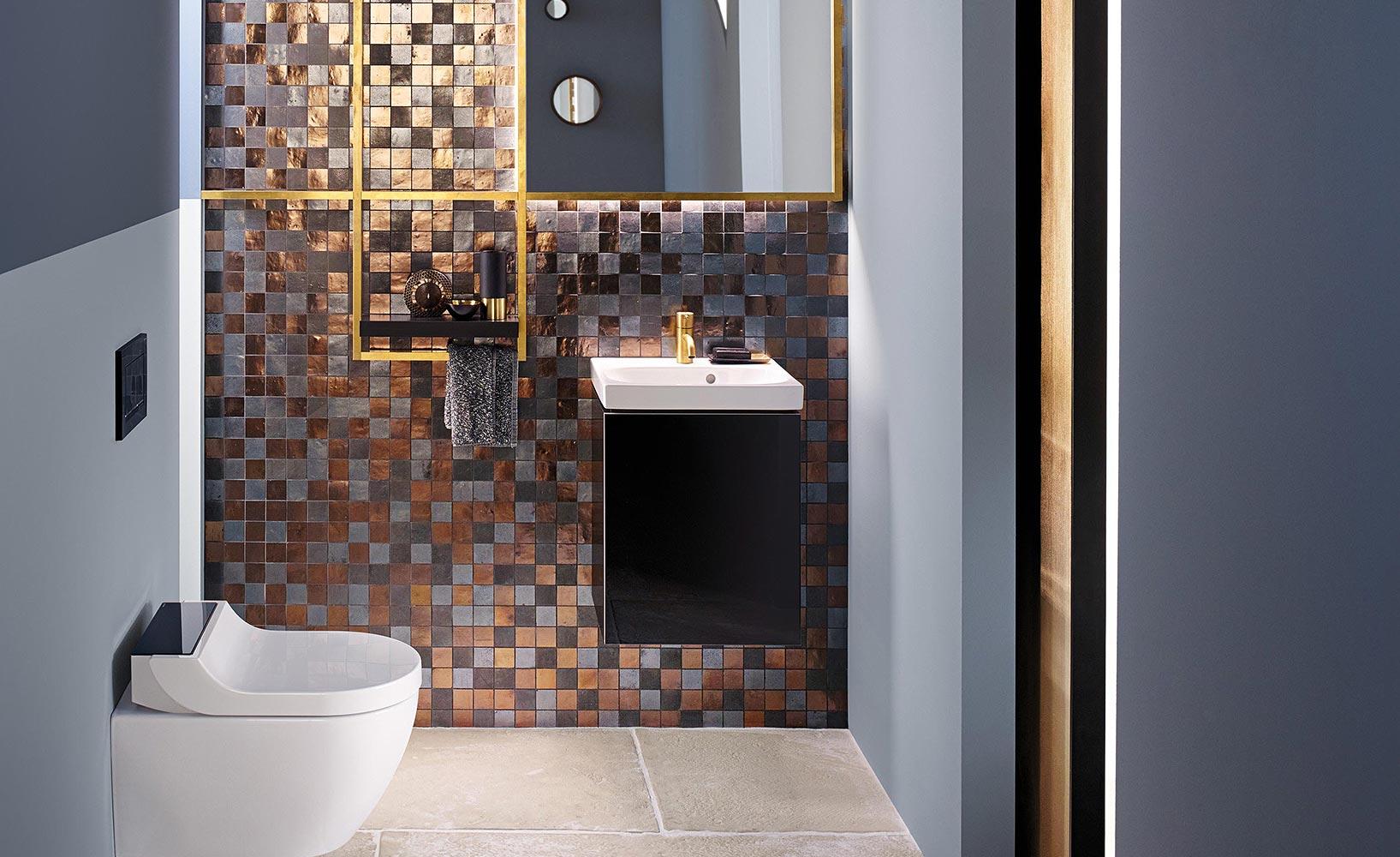 schicke ideen f r kleine badezimmer. Black Bedroom Furniture Sets. Home Design Ideas