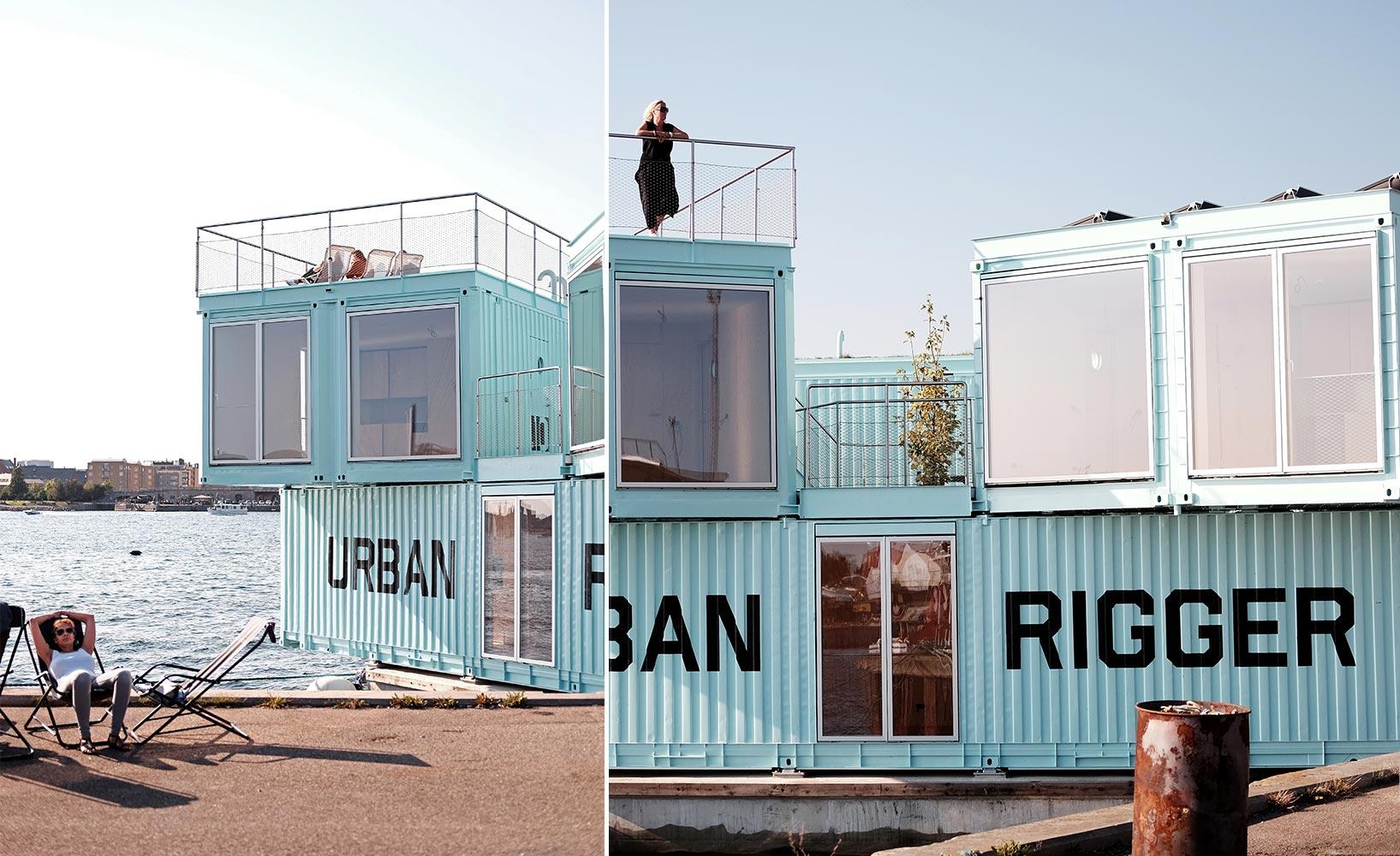 Urban Rigger Cointainerwohnungen