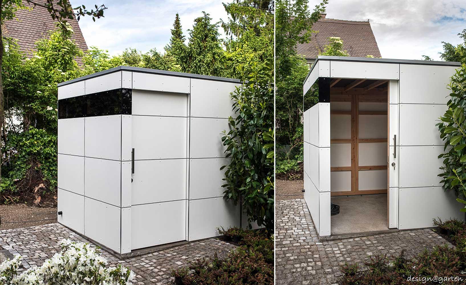Moderne Design Gartenhäuser Und Balkonschränke In Schicker Optik