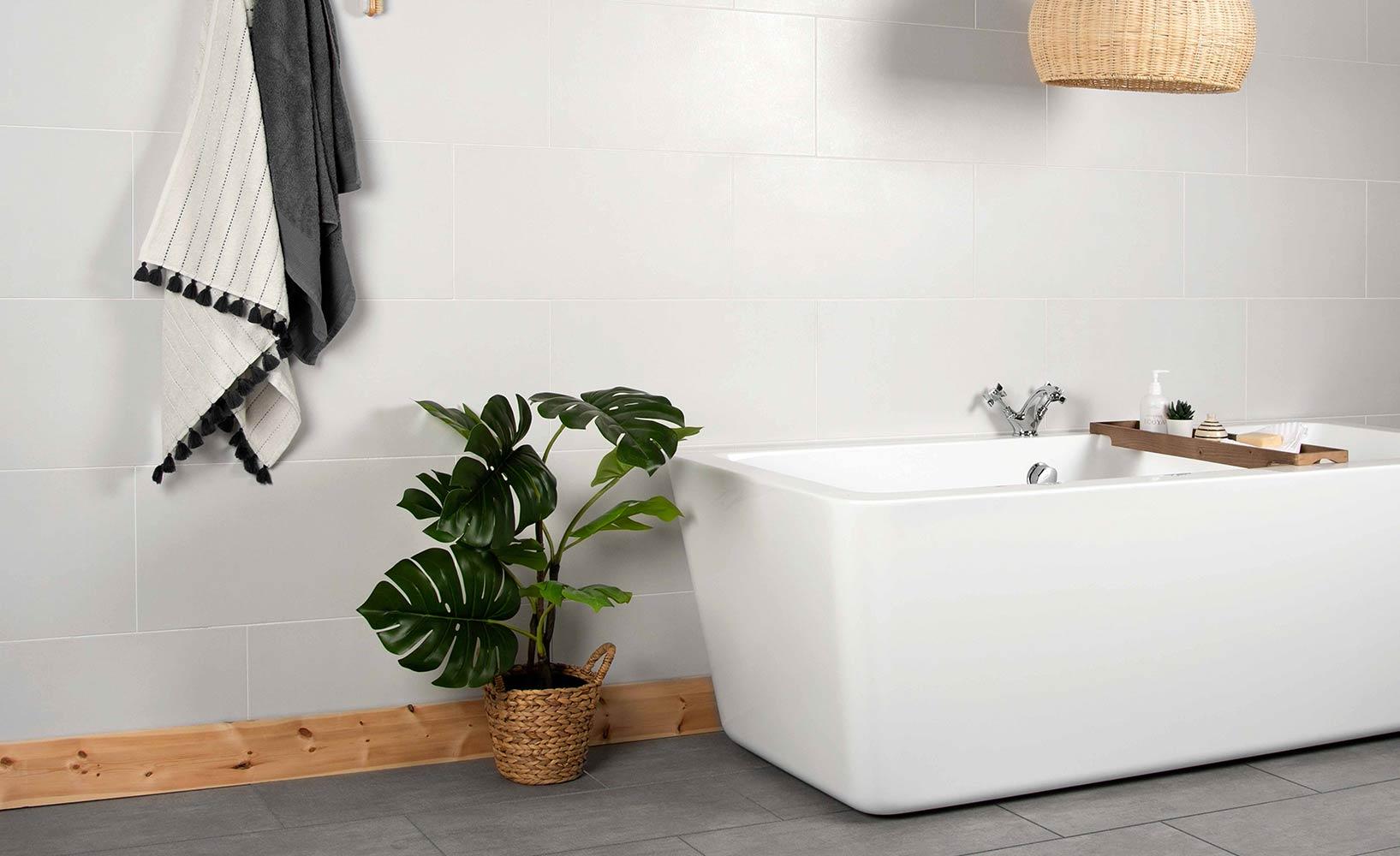 Die richtigen Materialien für ein modernes Badezimmer