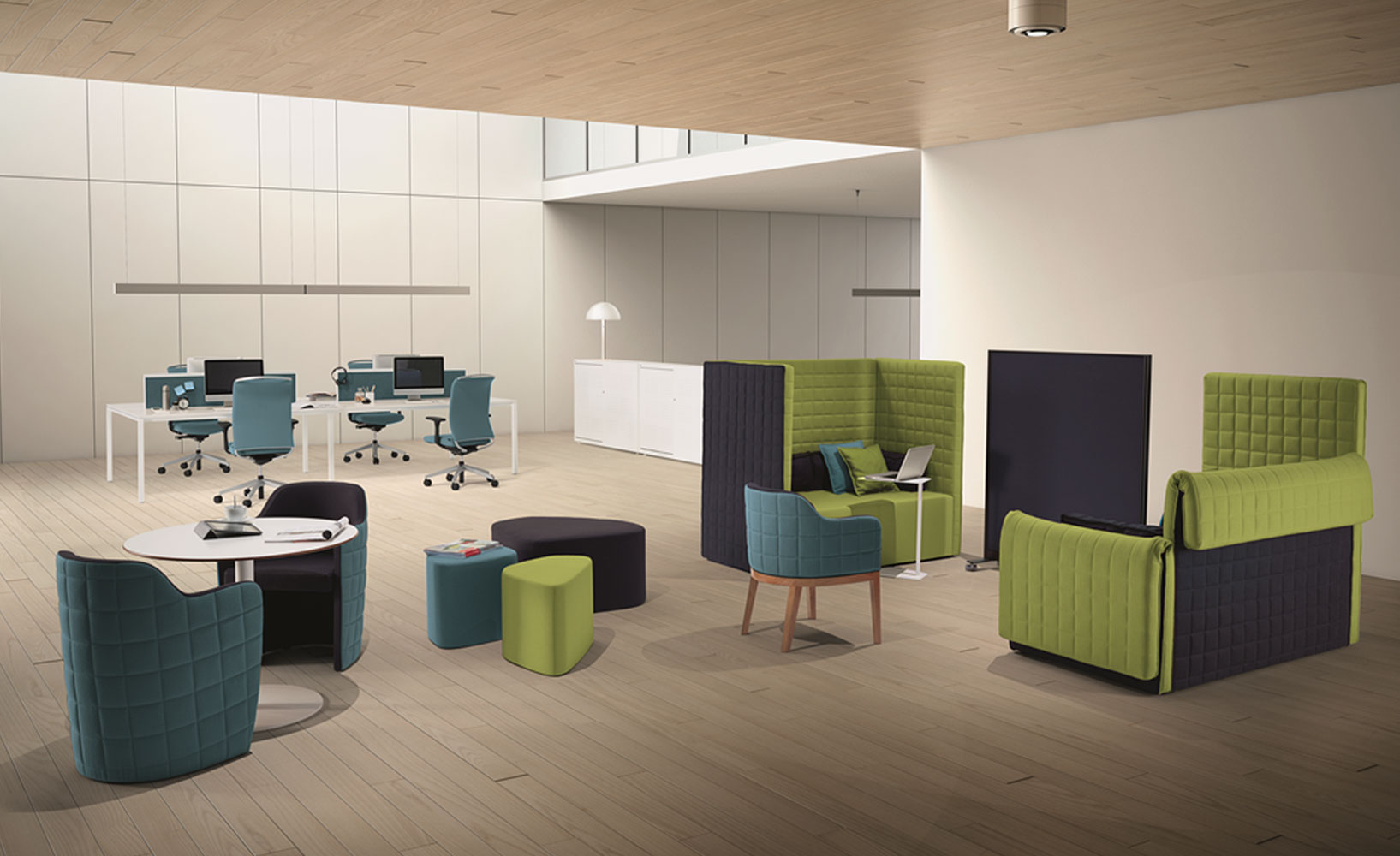 Kreative Büromöbel aus Portugal von Guialmi