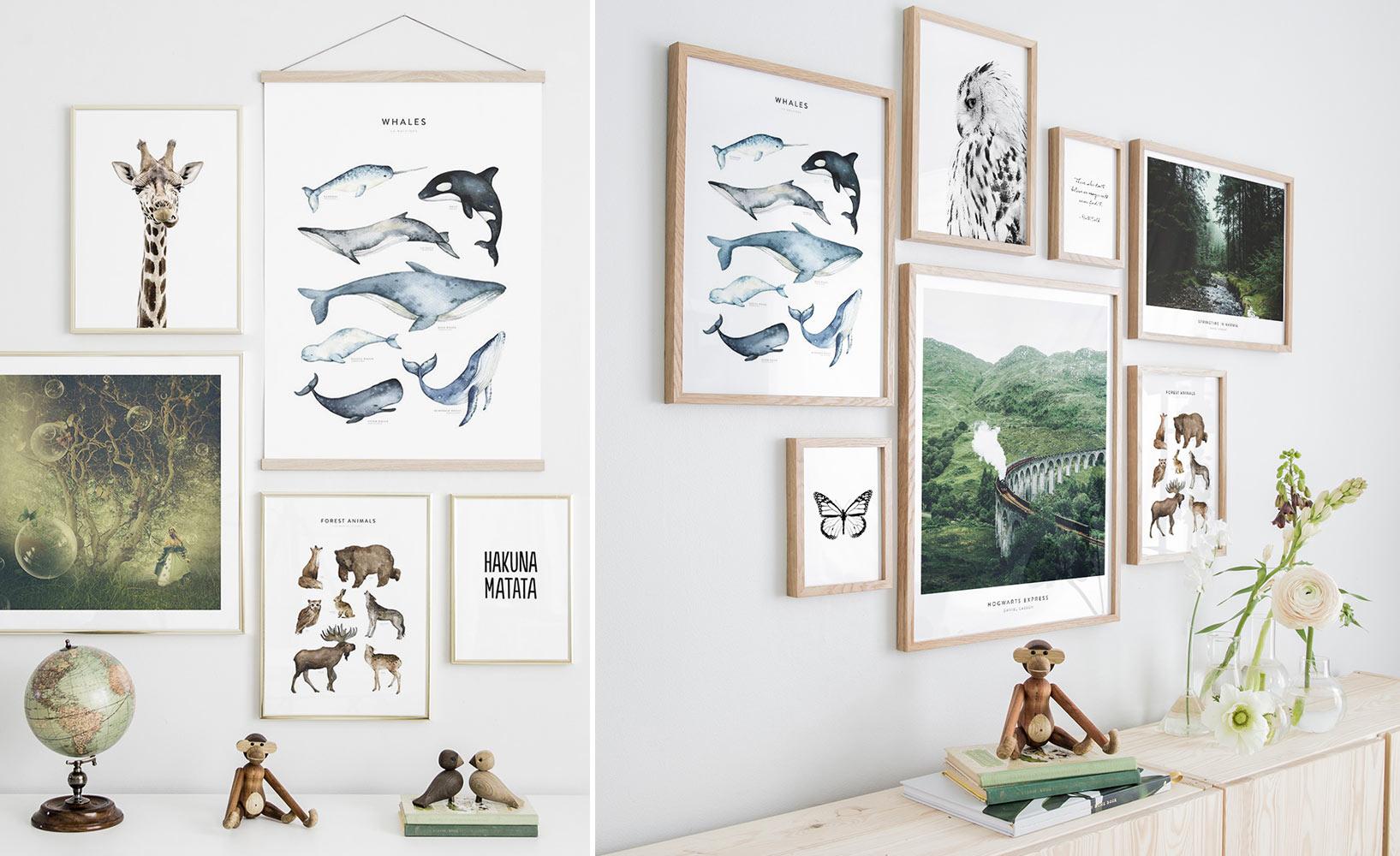 Kunstdrucke fürs Kinderzimmer