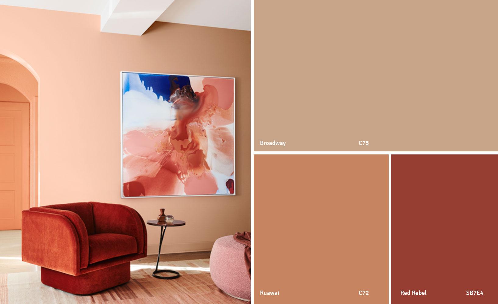 Von Trendfarben Farbtrends Und Farben Des Jahres