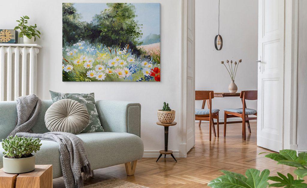 Wieso jeder Bilder von Blumen Zuhause haben sollte