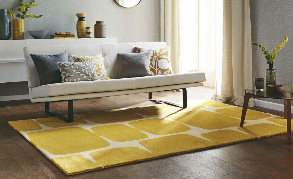 Methode zur Teppichreinigung