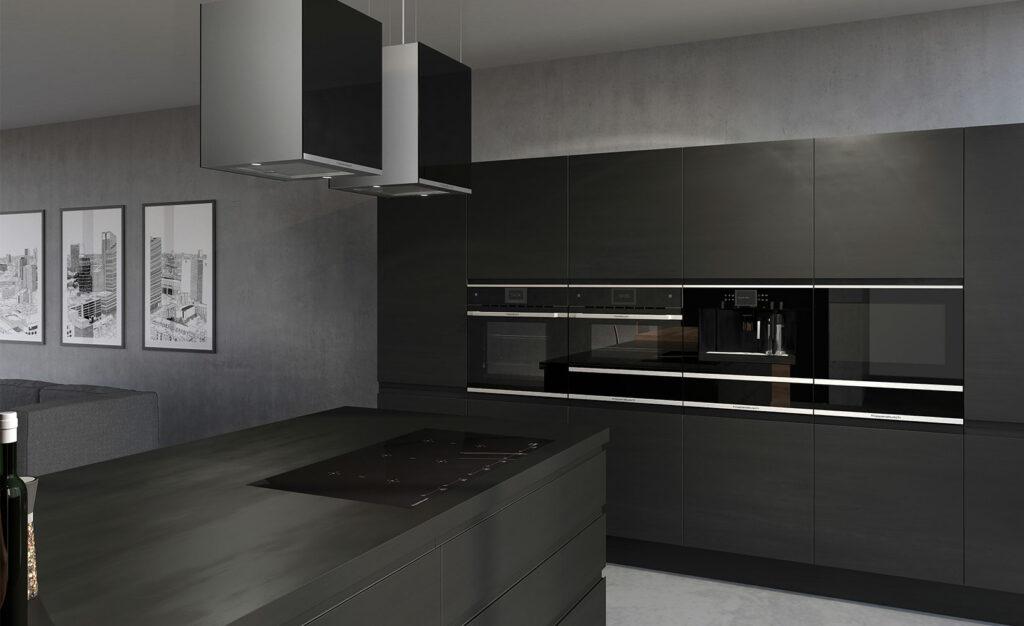 Smarte Küchen ? Touchbedienung, audio-visuelle Kommunikation, Internetfähigkeit
