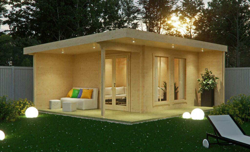 Das Gartenhaus als Gästehaus