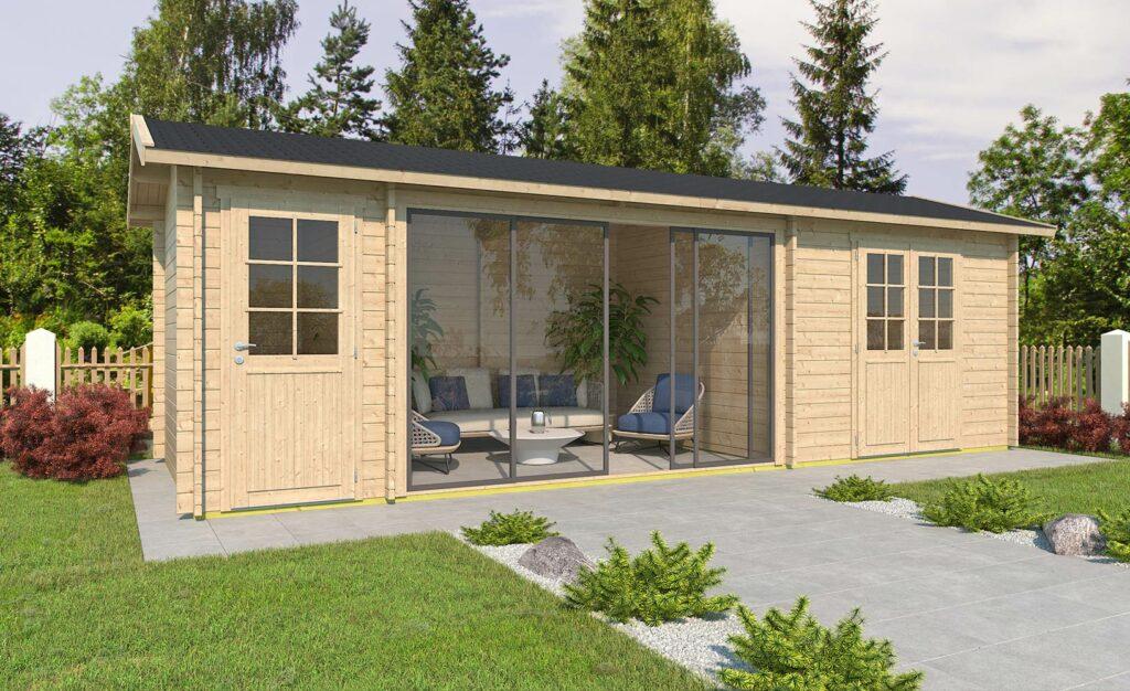 Gartenhaus - modern und schick