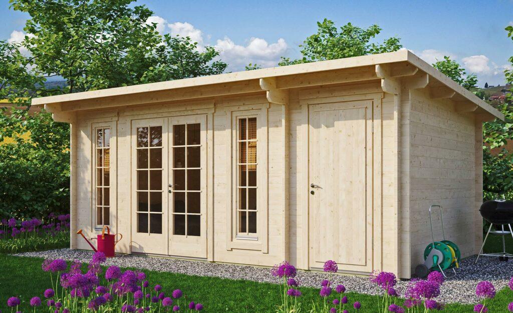 Moderne Sommerhäuschen Gartenhäuser